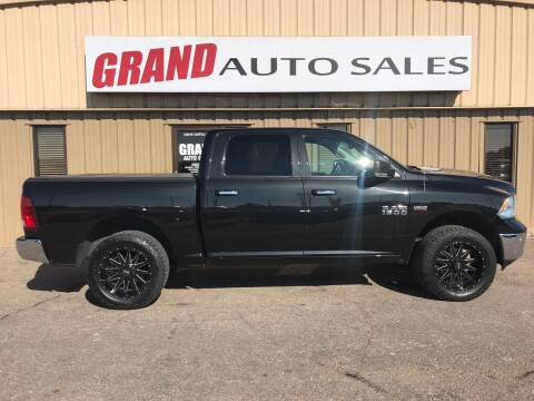 2018 RAM Ram Pickup 1500 for sale at GRAND AUTO SALES in Grand Island NE