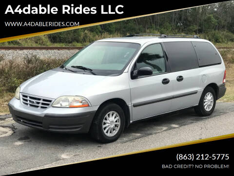 2000 Ford Windstar for sale at A4dable Rides LLC in Haines City FL