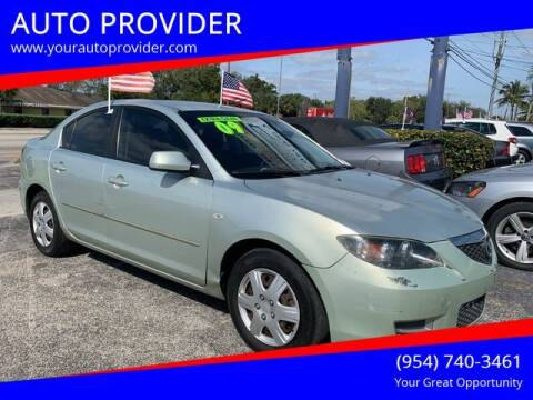2009 Mazda MAZDA3 for sale at AUTO PROVIDER in Fort Lauderdale FL