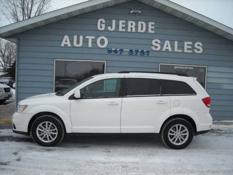 2015 Dodge Journey for sale at GJERDE AUTO SALES in Detroit Lakes MN