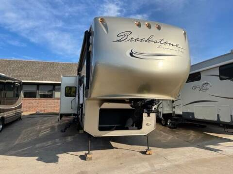 2012 Coachmen Brookstone 367RL for sale at Buy Here Pay Here RV in Burleson TX
