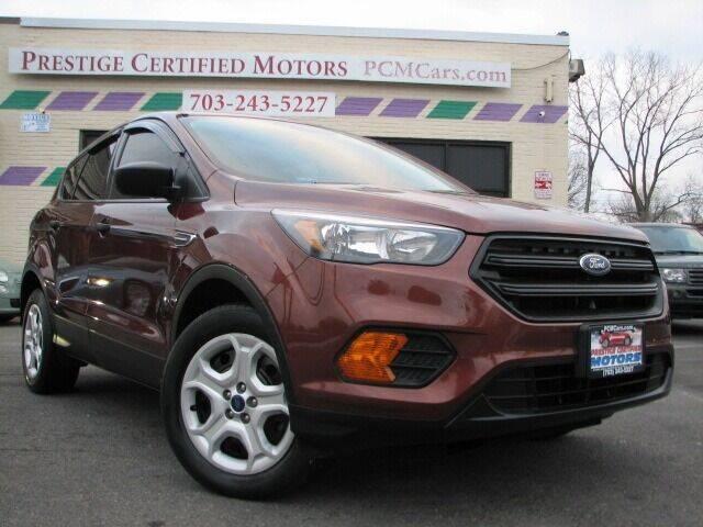 2018 Ford Escape for sale at Prestige Certified Motors in Falls Church VA