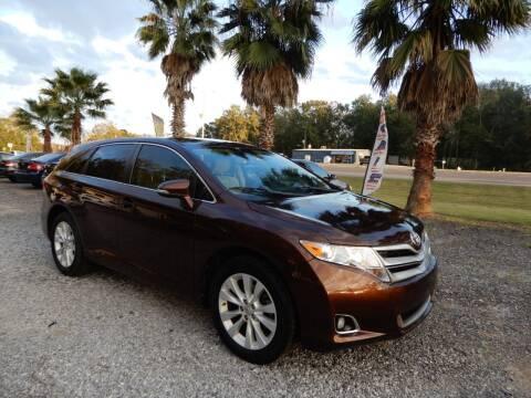 2013 Toyota Venza for sale at B&B AUTO RTO LLC in Sorrento LA