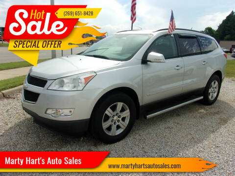 2010 Chevrolet Traverse for sale at Marty Hart's Auto Sales in Sturgis MI