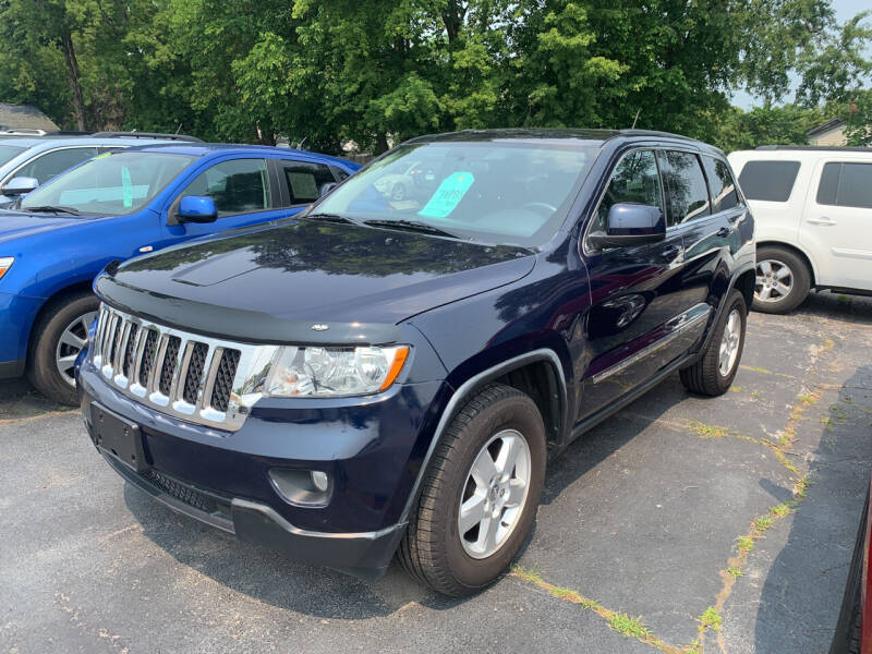 2012 Jeep Grand Cherokee for sale at PAPERLAND MOTORS - Fresh Inventory in Green Bay WI