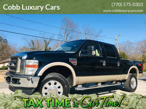 2008 Ford F-350 Super Duty for sale at Cobb Luxury Cars in Marietta GA