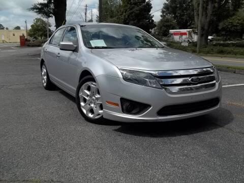 2011 Ford Fusion for sale at CORTEZ AUTO SALES INC in Marietta GA