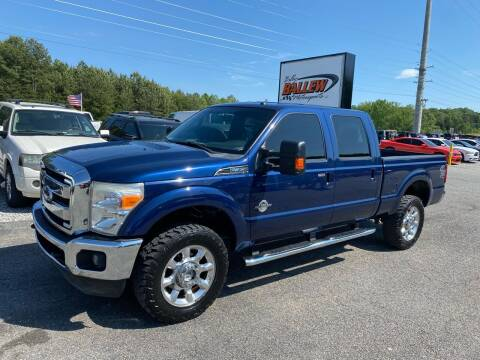 2011 Ford F-350 Super Duty for sale at Billy Ballew Motorsports in Dawsonville GA