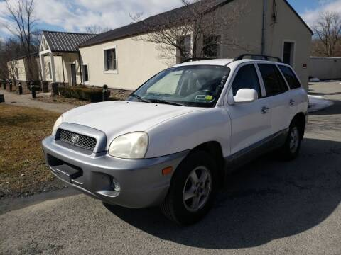 2003 Hyundai Santa Fe for sale at Wallet Wise Wheels in Montgomery NY