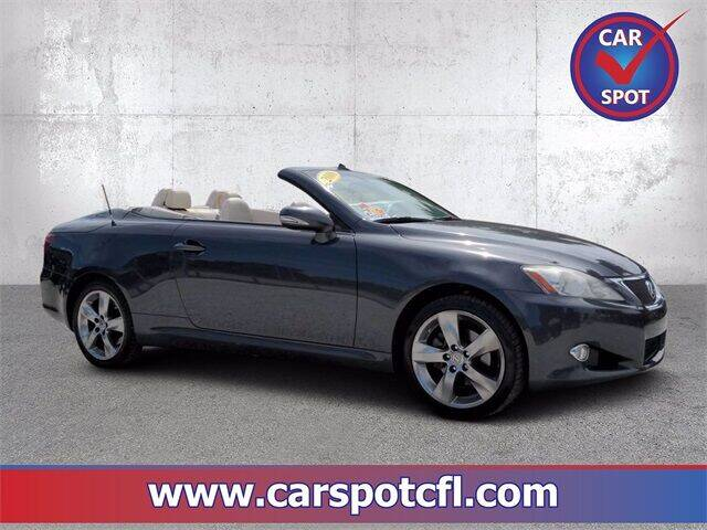 2010 Lexus IS 250C for sale at Car Spot Of Central Florida in Melbourne FL
