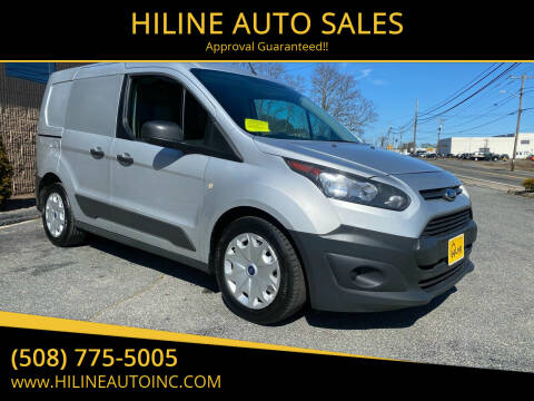 2014 Ford Transit Connect Cargo for sale at HILINE AUTO SALES in Hyannis MA