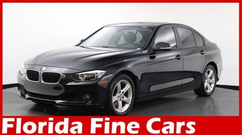 2013 BMW 3 Series for sale at Florida Fine Cars - West Palm Beach in West Palm Beach FL