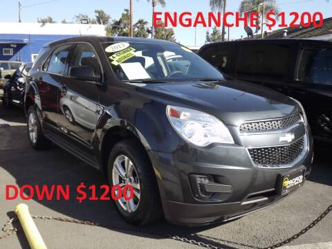 2013 Chevrolet Equinox for sale at PACIFICO AUTO SALES in Santa Ana CA
