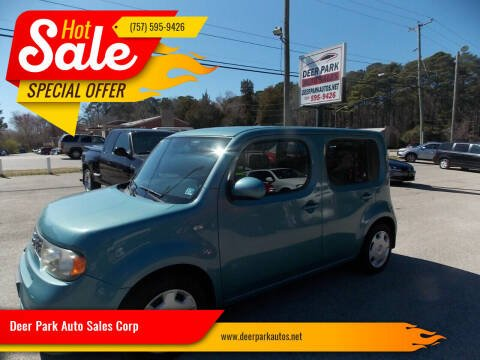 2010 Nissan cube for sale at Deer Park Auto Sales Corp in Newport News VA