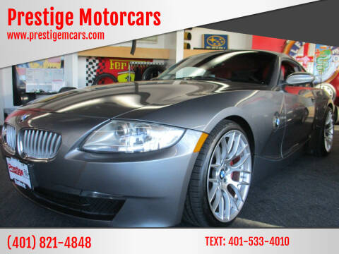 2008 BMW Z4 for sale at Prestige Motorcars in Warwick RI