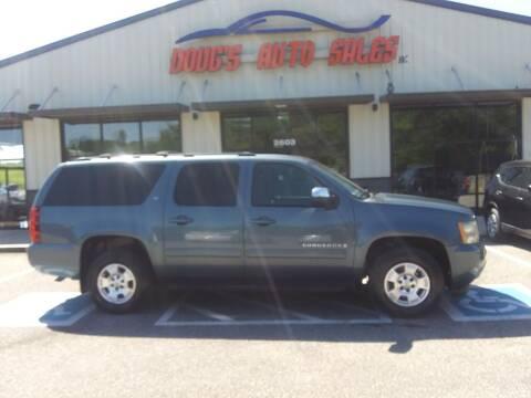 2009 Chevrolet Suburban for sale at DOUG'S AUTO SALES INC in Pleasant View TN