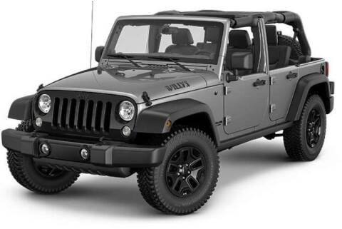 2014 Jeep Wrangler for sale at TRADEWINDS MOTOR CENTER LLC in Cleveland OH