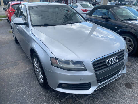 2012 Audi A4 for sale at Castle Used Cars in Jacksonville FL