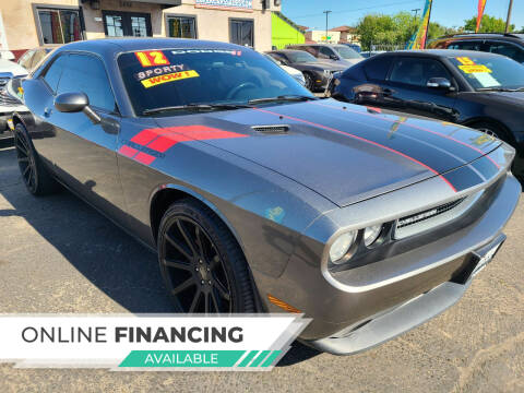 2012 Dodge Challenger for sale at Super Cars Sales Inc #1 - Super Auto Sales Inc #2 in Modesto CA