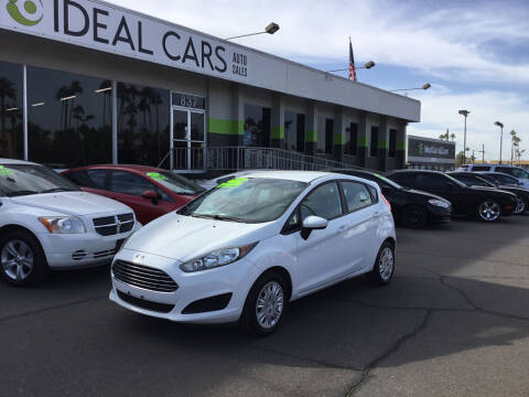 2016 Ford Fiesta for sale at Ideal Cars in Mesa AZ