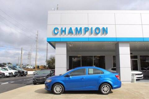 2017 Chevrolet Sonic for sale at Champion Chevrolet in Athens AL