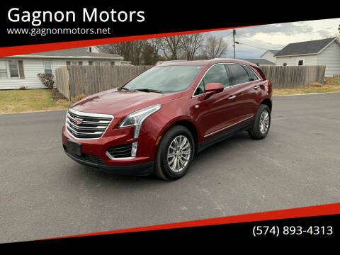 2017 Cadillac XT5 for sale at Gagnon  Motors - Gagnon Motors in Akron IN