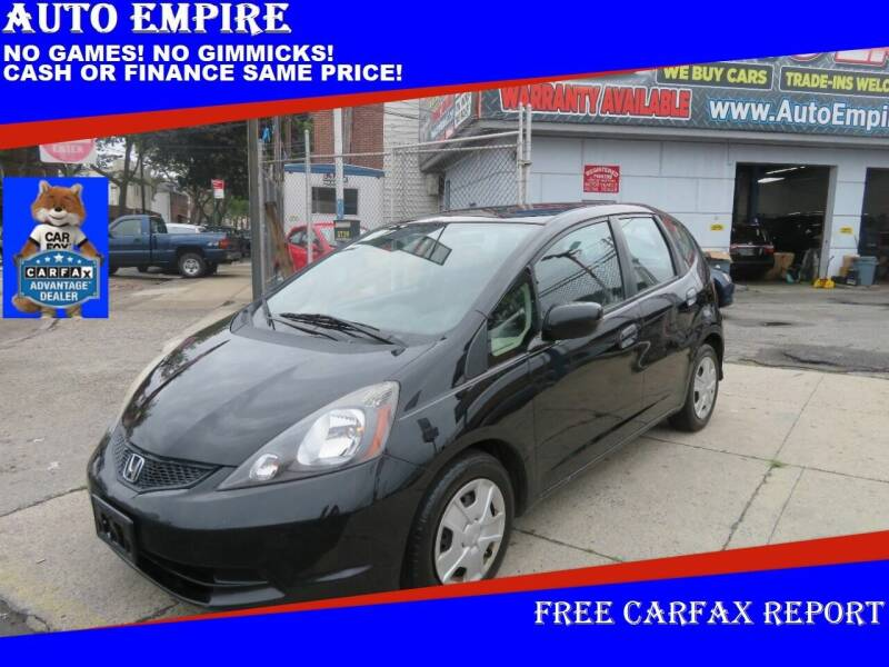 2013 Honda Fit for sale at Auto Empire in Brooklyn NY
