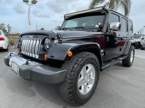 2008 Jeep Wrangler Unlimited for sale at CARSTER in Huntington Beach CA