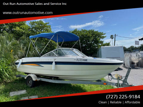 Bayliner Bow Rider for sale at Out Run Automotive Sales and Service Inc in Tampa FL