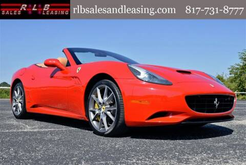 2013 Ferrari California for sale at RLB Sales and Leasing in Fort Worth TX