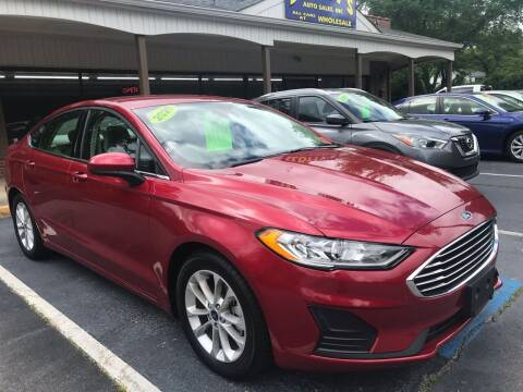 2020 Ford Fusion for sale at Scotty's Auto Sales, Inc. in Elkin NC