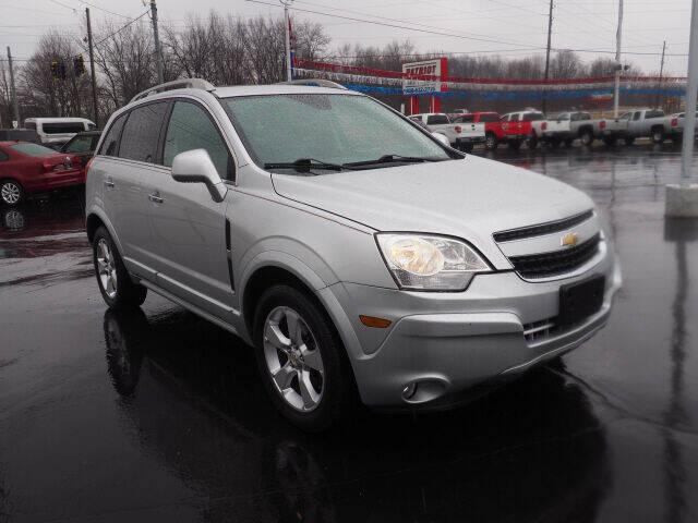 2014 Chevrolet Captiva Sport for sale at Patriot Motors in Cortland OH