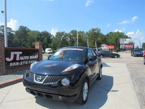 2014 Nissan JUKE for sale at J T Auto Group in Sanford NC