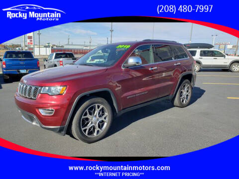 2019 Jeep Grand Cherokee for sale at Rocky Mountain Motors in Idaho Falls ID