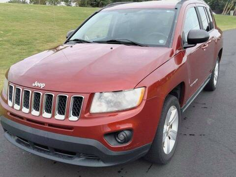2011 Jeep Compass for sale at Happy Days Auto Sales in Piedmont SC