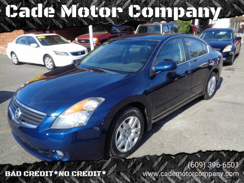 2009 Nissan Altima for sale at Cade Motor Company in Lawrenceville NJ