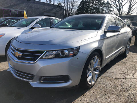 2015 Chevrolet Impala for sale at Champs Auto Sales in Detroit MI