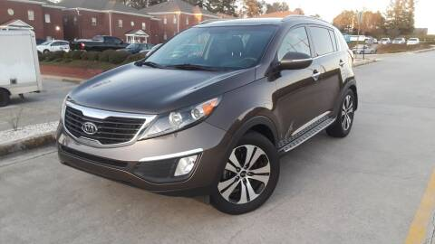 2012 Kia Sportage for sale at Don Roberts Auto Sales in Lawrenceville GA
