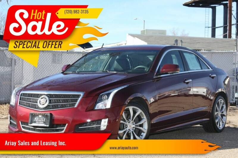 2014 Cadillac ATS for sale at Ariay Sales and Leasing Inc. - Pre Owned Storage Lot in Denver CO