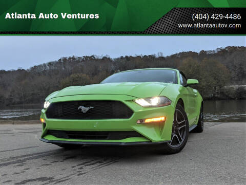 2020 Ford Mustang for sale at Atlanta Auto Ventures in Roswell GA
