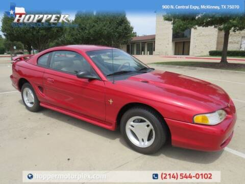 1996 Ford Mustang for sale at HOPPER MOTORPLEX in Mckinney TX