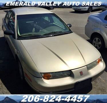 2001 Saturn S-Series for sale at Emerald Valley Auto Sales in Des Moines WA