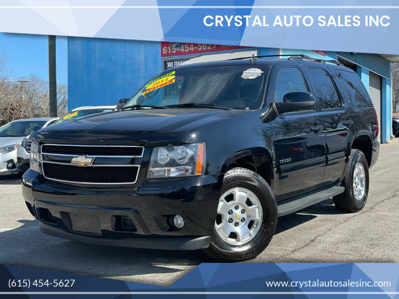 2011 Chevrolet Tahoe for sale at Crystal Auto Sales Inc in Nashville TN