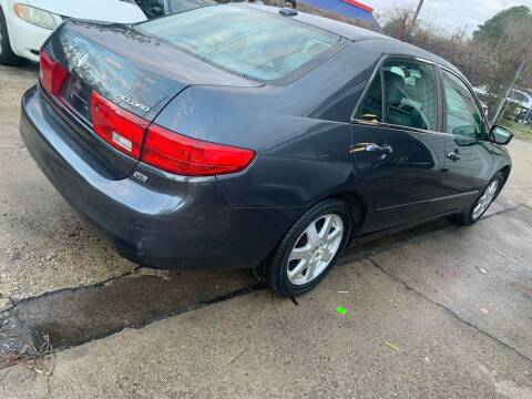 2005 Honda Accord for sale at Whites Auto Sales in Portsmouth VA