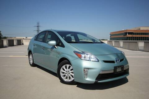 2012 Toyota Prius Plug-in Hybrid for sale at Car Match in Temple Hills MD