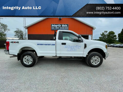 2019 Ford F-250 Super Duty for sale at Integrity Auto LLC in Sheldon VT