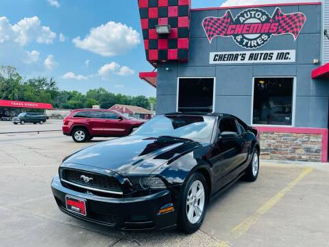 2014 Ford Mustang for sale at Chema's Autos & Tires in Tyler TX