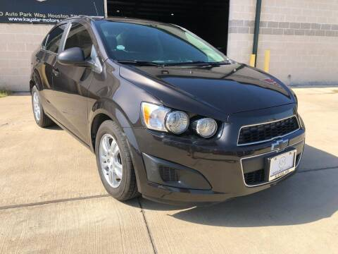 2015 Chevrolet Sonic for sale at KAYALAR MOTORS Mechanic in Houston TX