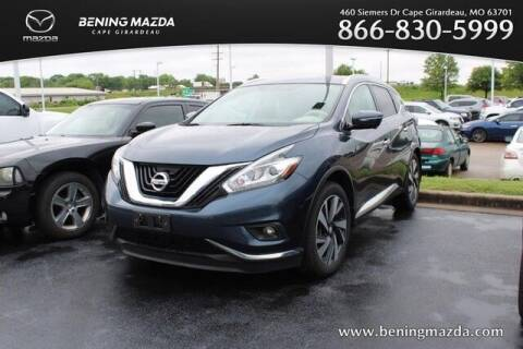 2015 Nissan Murano for sale at Bening Mazda in Cape Girardeau MO
