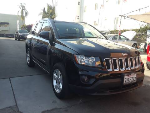 2014 Jeep Compass for sale at Western Motors Inc in Los Angeles CA